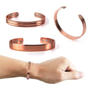 Jewelry - Adjustable Pure Copper Magnetic Healing Bracelets
